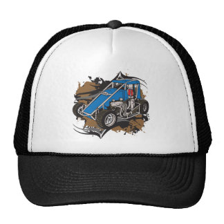 Midget Race Car Hats