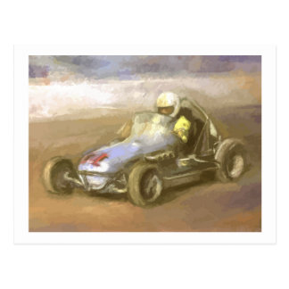 Midget Racer Post Cards