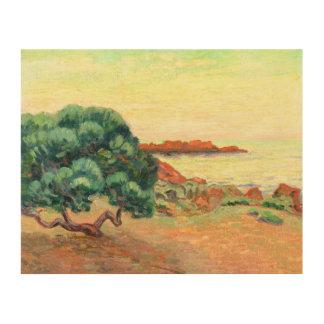 Midi Landscape, 1898 (oil on canvas) Wood Wall Art