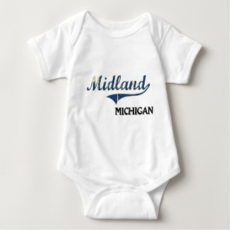 Midland Michigan City Classic Tee Shirt