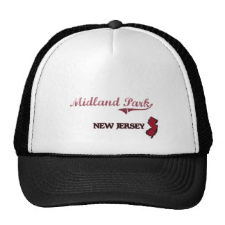 Midland Park New Jersey City Classic Mesh Hats