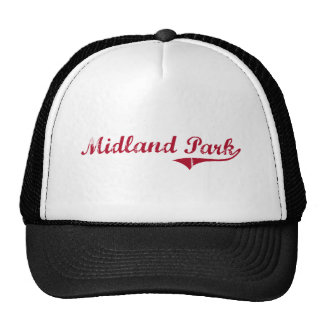 Midland Park New Jersey Classic Design Mesh Hat