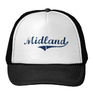 Midland Pennsylvania Classic Design Mesh Hat