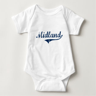 Midland Pennsylvania Classic Design T-shirt