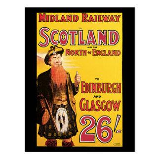 Midland Railway Scotland Postcard