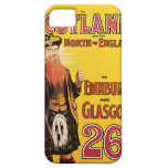 Midland Railway to Scotland Vintage Travel iPhone 5 Cover