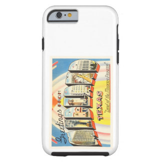 Midland Texas TX Old Vintage Travel Souvenir Tough iPhone 6 Case