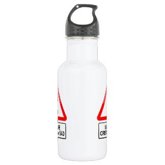 Midlife crisis warning. 532 ml water bottle