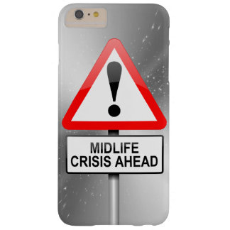 Midlife crisis warning. barely there iPhone 6 plus case