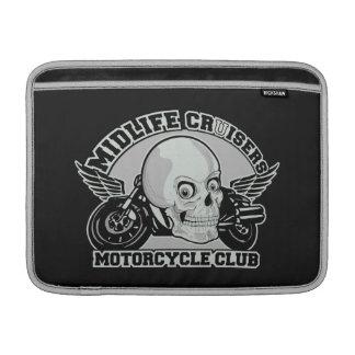 """Midlife Cruisers MC custom 13"""" MacBook sleeve"""