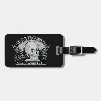 Midlife Cruisers MC custom luggage tag