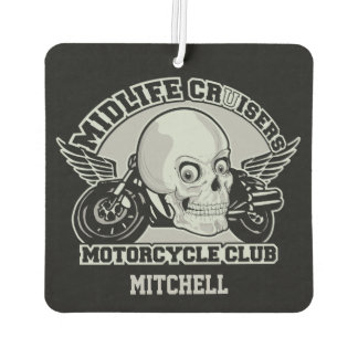 Midlife Cruisers MC custom monogram air freshner