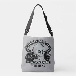 Midlife Cruisers MC custom name bags