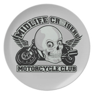 Midlife Cruisers MC custom plate
