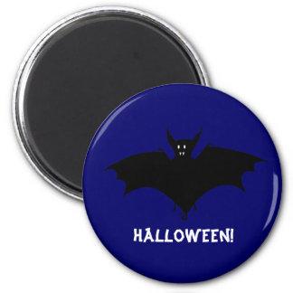 Midnight Bat 6 Cm Round Magnet