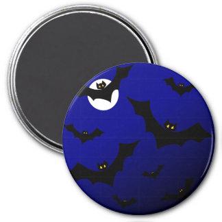 MIDNIGHT BATS TOO! ~ 7.5 CM ROUND MAGNET