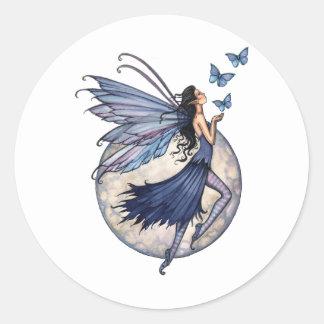 Midnight Blue Fairy Stickers