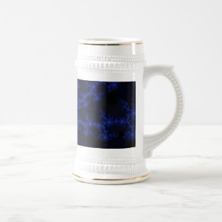 Midnight Blue Galaxy - fractal art Coffee Mug