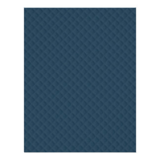 Midnight Blue Quilted Pattern 21.5 Cm X 28 Cm Flyer