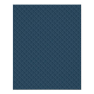 Midnight Blue Quilted Pattern 11.5 Cm X 14 Cm Flyer