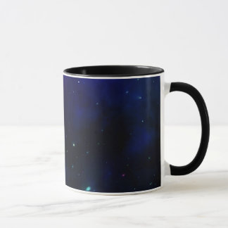 Midnight Blue Sky with Stars Mug