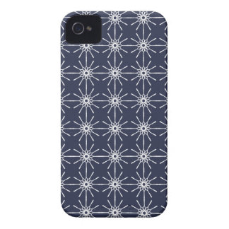 Midnight Blue Starburst iPhone 4 Barely There Case Case-Mate iPhone 4 Case