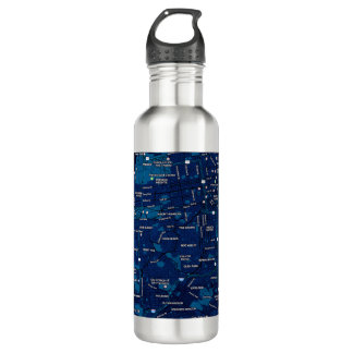 Midnight Blue Travel Mug - San Francisco 710 Ml Water Bottle