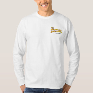 Midnight Carboys Left Long Sleeve White T-Shirt