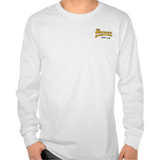 Midnight Carboys Left Long Sleeve White Tshirt