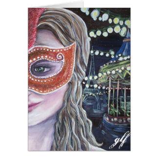 midnight carnival card