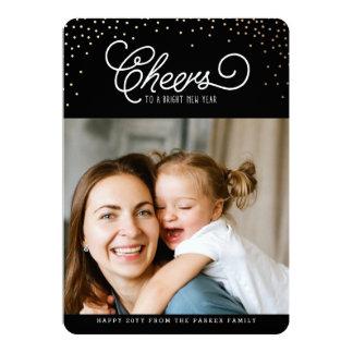 Midnight Cheers Photo Card