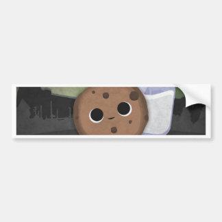 Midnight Cookie with Milk Bumper Sticker