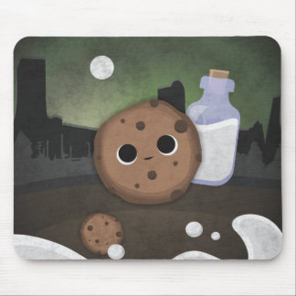 Midnight Cookie with Milk Mouse Pad