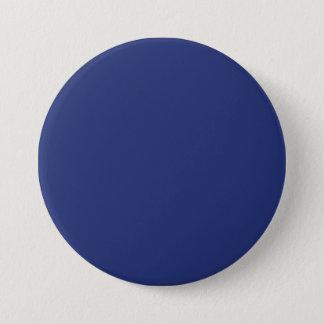 Midnight Dark Blue Personalized Navy Background 7.5 Cm Round Badge