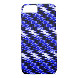 Midnight Dragon Scales Fractal iPhone 7 Case