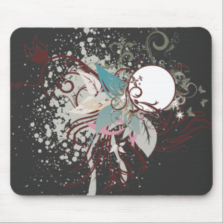 midnight elegance vector mouse pad