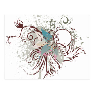 midnight elegance vector postcard