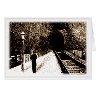 Midnight Express card (white border)