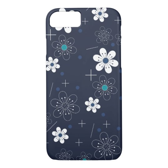 Midnight Floral iPhone 7 iPhone 8/7 Case