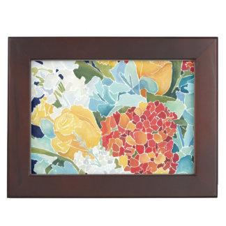 Midnight Florals II Keepsake Box