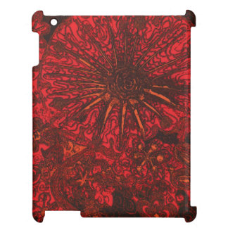 Midnight  Flowers. Case For The iPad