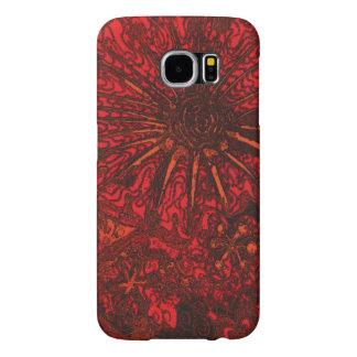 Midnight Flowers. Samsung Galaxy S6 Cases