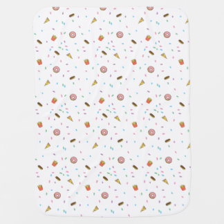 Midnight Food Craving Baby Blanket