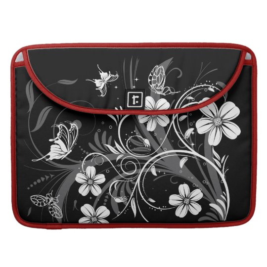 Midnight Garden Butterflies  Rickshaw Flap Sleeve