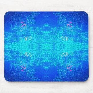 Midnight garden mouse mat