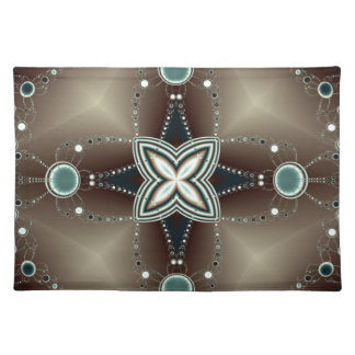 Midnight godl placemat