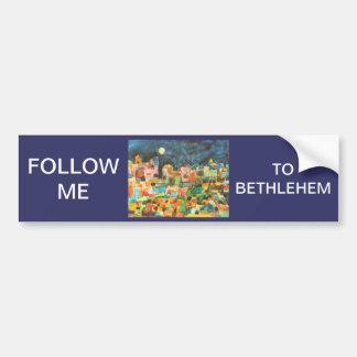 Midnight in Bethlehem Bumper Sticker