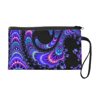 Midnight Jungle Party Wristlet Purse