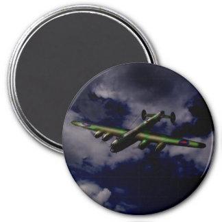 Midnight Lancaster 7.5 Cm Round Magnet