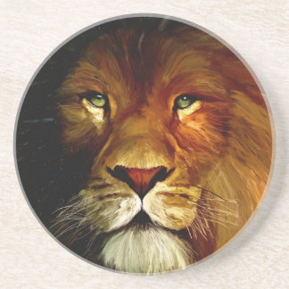 Midnight Lion 1.jpg Coaster